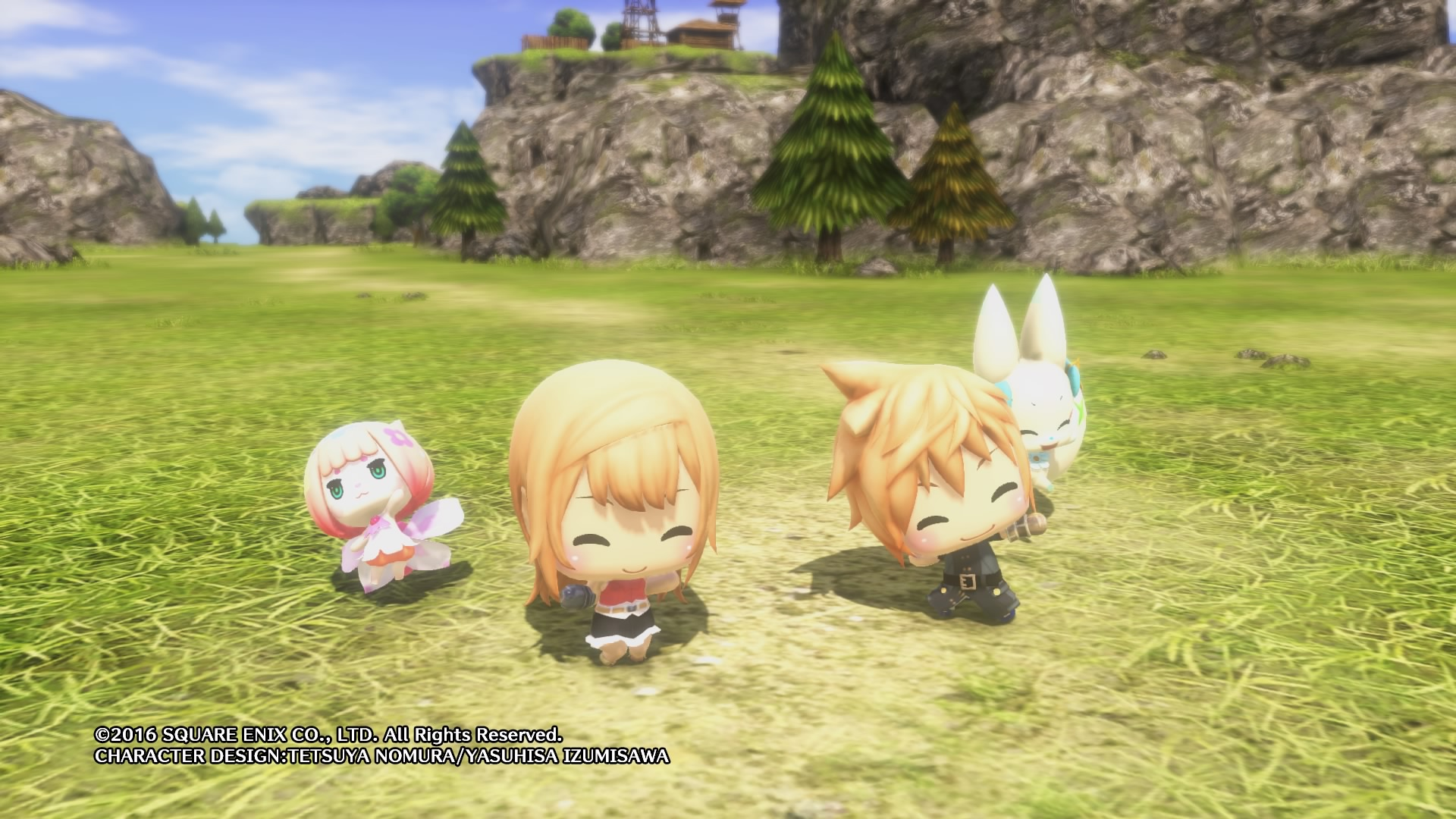 WORLD OF FINAL FANTASY Dungeon 1